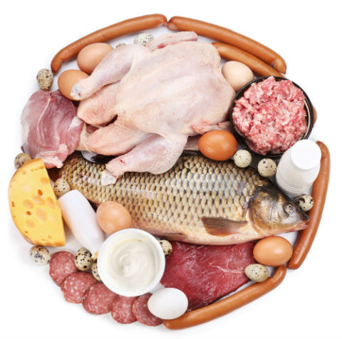 белтъчини месо