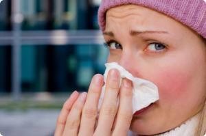 alergia ot studa